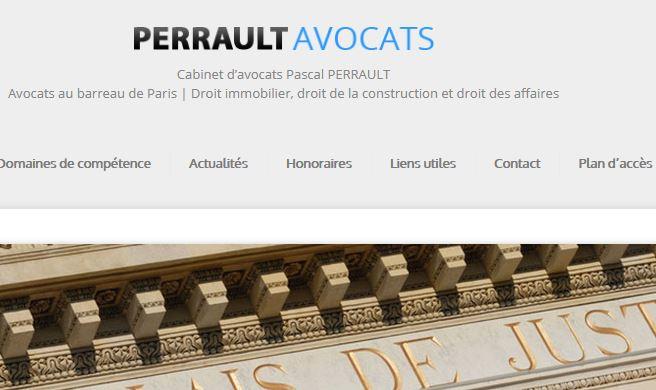 Perrault Avocats: cabinet en droit de l'immobilier