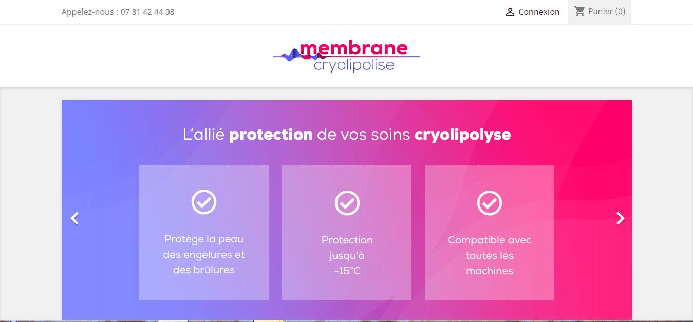 Acheter des membranes cryolipolyse
