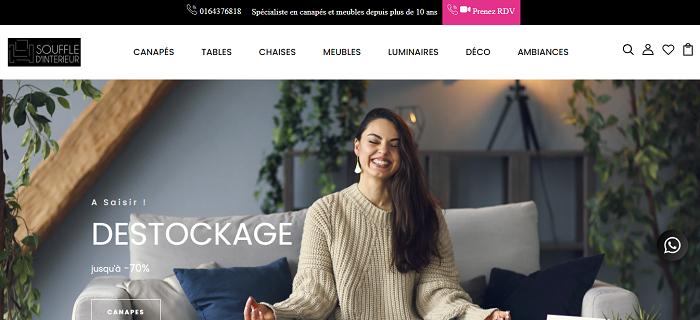 Acheter des meubles contemporains en ligne